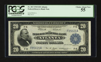 Fr. 823 $20 1918 Federal Reserve Bank Note PCGS Choice About New 55