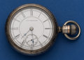 Timepieces:Pocket (post 1900), Aurora Private Label Pocket Watch Made Expressly For The Guild 15Jewel. ...