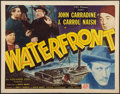 "Movie Posters:War, Waterfront (PRC, 1944). Half Sheet (22"" X 28""). War.. ..."