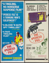 """The Ipcress File (Universal, 1965). Inserts (2) (14"""" X 36"""") Regular and Quotes Style. Thriller. ... (Total: 2..."""