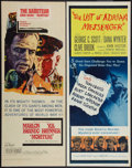 "Movie Posters:War, Morituri and Other Lot (20th Century Fox, 1965). Inserts (2) (14"" X36""). War.. ... (Total: 2 Items)"