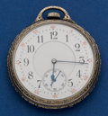 Timepieces:Pocket (post 1900), Waltham 12 Size 23 Jewel Maximus For Shreve Crump & Low BostonPocket Watch. ...