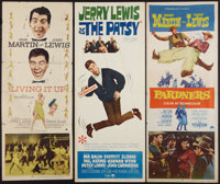 """Pardners & Others Lot (Paramount, 1956). Inserts (3) (14"""" X 36""""). Comedy. ... (Total: 3 Items)"""