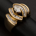 Estate Jewelry:Rings, Gold & Diamond Ring. ...