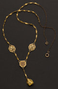Estate Jewelry:Necklaces, Unique Gold Nugget Necklace. ...