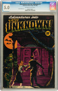 Golden Age (1938-1955):Horror, Adventures Into The Unknown #1 (ACG, 1948) CGC VG/FN 5.0 Off-whiteto white pages....