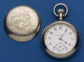 Timepieces:Pocket (post 1900), Rockford 18 Size 21 Jewel Grade 918 Pocket Watch. ...