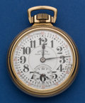 Timepieces:Pocket (post 1900), Illinois 21 Jewel Bunn Special Pocket Watch With A 23 Jewel Marked Dial Pocket Watch. ...