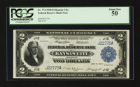 Fr. 774 $2 1918 Federal Reserve Bank Note PCGS About New 50