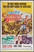 """Movie Posters:Swashbuckler, The Son of Captain Blood (Paramount, 1963). One Sheet (27"""" X 41"""") and Lobby Cards (8) (11"""" X 17""""). Swashbuckler.. ... (Total: 9 Items)"""
