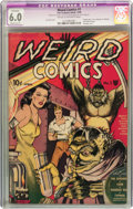 Golden Age (1938-1955):Horror, Weird Comics #1 (Fox Features Syndicate, 1940) CGC Apparent FN 6.0Moderate (P) Cream to off-white pages....
