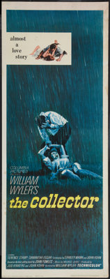 """The Collector (Columbia, 1965). Insert (14"""" X 36""""). Thriller"""