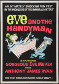 "Movie Posters:Sexploitation, Eve and the Handyman (Pad-Ram Enterprises, 1961). One Sheet (30"" X42""). Sexploitation.. ..."