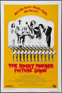 """The Rocky Horror Picture Show (20th Century Fox, 1975). One Sheet (27"""" X 41""""). Style B. Rock and Roll"""