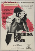 "Movie Posters:Foreign, Hiroshima, mon amour (D.I.F.A., 1959). Argentinean Poster (28"" X 41.25""). Foreign.. ..."