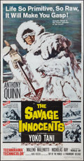 "Movie Posters:Adventure, The Savage Innocents (Paramount, 1960). Three Sheet (41"" X 81"").Adventure.. ..."