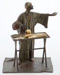 FROM A PRIVATE HOUSTON COLLECTOR  IN THE MANNER OF FRANZ XAVIER BERGMAN (AUSTRIAN, 1861-1936), COLD-PAINTED FIGURAL BRO...