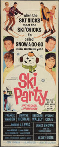 "Movie Posters:Comedy, Ski Party (American International, 1965). Insert (14"" X 36""). Comedy.. ..."