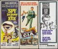 """Movie Posters:Adventure, Spy in Your Eye & Others Lot (American International, 1966).Inserts (3) (14"""" X 36""""). Adventure.. ... (Total: 3 Items)"""