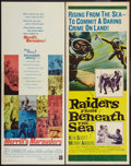 "Movie Posters:War, Merrill's Marauders & Other Lot (Warner Brothers, 1962).Inserts (2) (14"" X 36""). War.. ... (Total: 2 Items)"
