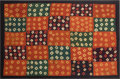 Antiques:Antiquities, Striking Large Early Nazca Tie Dyed Textile...