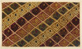Antiques:Antiquities, Ica Textile Panel Depicting Rows of Abstract Sea Birds...