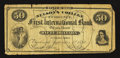 Obsoletes By State:Ohio, Cincinnati, OH- Nelson's College Currency $50 Sept. 1, 1870Schingoethe 180-50. ...