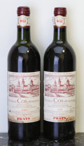 Red Bordeaux, Chateau Cos d'Estournel 1978 . St. Estephe. 1ts, 1hs, 2wasl.Bottle (2). ... (Total: 2 Btls. )