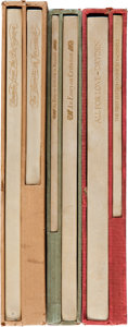 Books, [John Henry Nash, printer]. Three Books Printed by John Henry Nash,including: Elizabeth Barrett Browning. Sonnets f... (Total: 3Items)