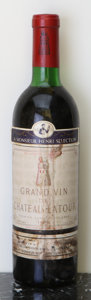 Red Bordeaux, Chateau Latour 1972 . Pauillac. ts, bsl, hwasl. Bottle (1).... (Total: 1 Btl. )
