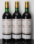 Red Bordeaux, Chateau Pichon Lalande 1978 . Pauillac. 1bn, 2lbsl. Bottle(3). ... (Total: 3 Btls. )