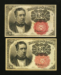 Fractional Currency:Fifth Issue, Fr. 1265 10¢ Fifth Issue. Fr. 1266 10¢ Fifth Issue.. ... (Total: 2 notes)