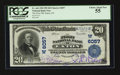 National Bank Notes:Colorado, Eaton, CO - $20 1902 Plain Back Fr. 660 The First NB Ch. # (W)6057....