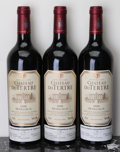 Red Bordeaux, Chateau du Tertre 2000 . Margaux. 1lbsl, 1bsl. Bottle (3).... (Total: 3 Btls. )