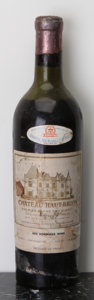 Red Bordeaux, Chateau Haut Brion 1950 . Pessac-Leognan. ms, hwasl, wisl.Bottle (1). ... (Total: 1 Btl. )