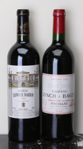 Red Bordeaux, Chateau Leoville Barton . 2001 St. Julien Bottle (1).Chateau Lynch Bages . 2001 Pauillac bsl Bottle (1)...(Total: 2 Btls. )