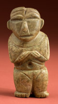 Antiques:Antiquities, Teotihuacan Votive Green Stone Idol...