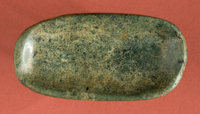 Olmec Clam Shell Effigy Jadeite Shaman's Spoon