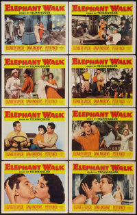 "Elephant Walk (Paramount, 1954). Lobby Card Set of 8 (11"" X 14""). Adventure. ... (Total: 8 Item)"