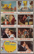 """Movie Posters:Musical, Deep in My Heart (MGM, 1954). Lobby Card Set of 8 (11"""" X 14""""). Musical.. ... (Total: 8 Items)"""