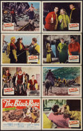 "Movie Posters:Adventure, The Black Rose (20th Century Fox, 1950). Lobby Card Set of 8 (11"" X14""). Adventure.. ... (Total: 8 Items)"