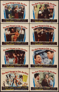 "Movie Posters:Musical, The Best Things in Life Are Free (20th Century Fox, 1956). Lobby Card Set of 8 (11"" X 14""). Musical.. ... (Total: 8 Items)"