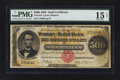 Large Size:Gold Certificates, Fr. 1216 $500 1882 Gold Certificate PMG Choice Fine 15 Net.. ...
