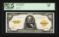 Large Size:Gold Certificates, Fr. 1200 $50 1922 Gold Certificate PCGS Very Fine 25.. ...