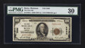 National Bank Notes:Montana, Butte, MT - $100 1929 Ty. 1 The First NB Ch. # 2566. ...