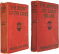 Books:First Editions, Franklin W. Dixon. Two First Edition Hardy Boys Books, including:The Secret of the Caves. [1929]. [and:] The My... (Total:2 Items)