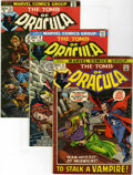 Bronze Age (1970-1979):Horror, Tomb of Dracula Group (Marvel, 1972-79) Condition: Average FN....(Total: 19 Comic Books)