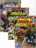 Bronze Age (1970-1979):Horror, Tomb of Dracula Group (Marvel, 1976-77) Condition: Average VF....(Total: 12 Comic Books)