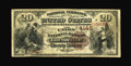 National Bank Notes:Kentucky, Louisville, KY - $20 1882 Brown Back Fr. 498 The Union NB Ch. #4145. ...