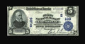 National Bank Notes:Kentucky, Louisville, KY - $5 1902 Plain Back Fr. 598 The First NB Ch. #(S)109. ...
